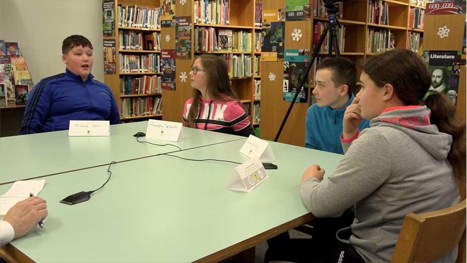 Sharpsville Students Discuss Education