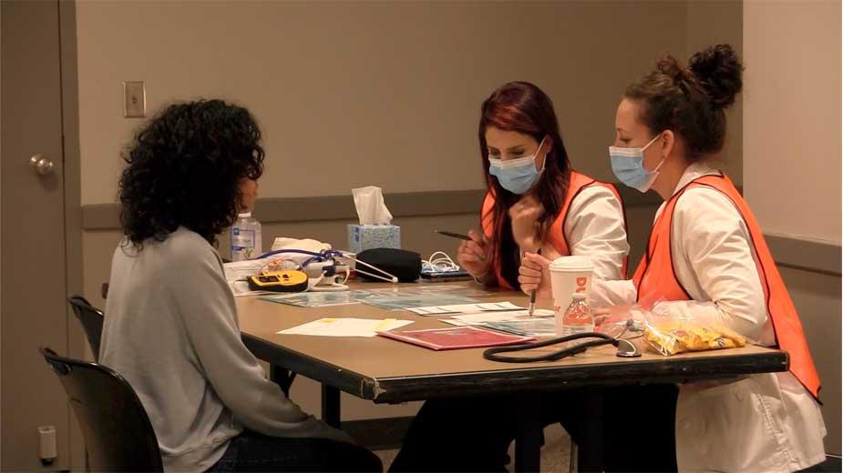 YSU Students Take Part in POD Simulation
