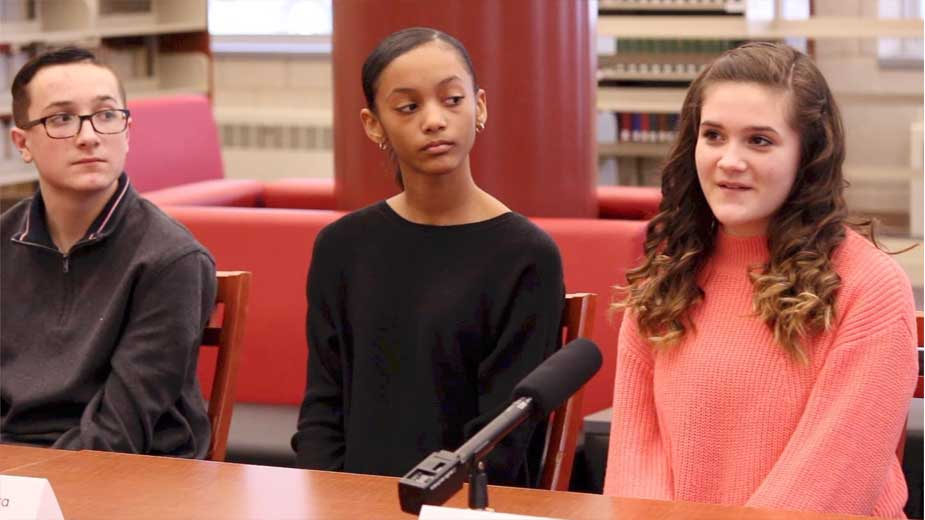 Student Panel: Campbell Middle School & Northeast Ohio Impact Academy