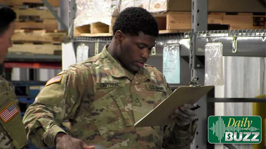 National Guard Aids Second Harvest Food Bank