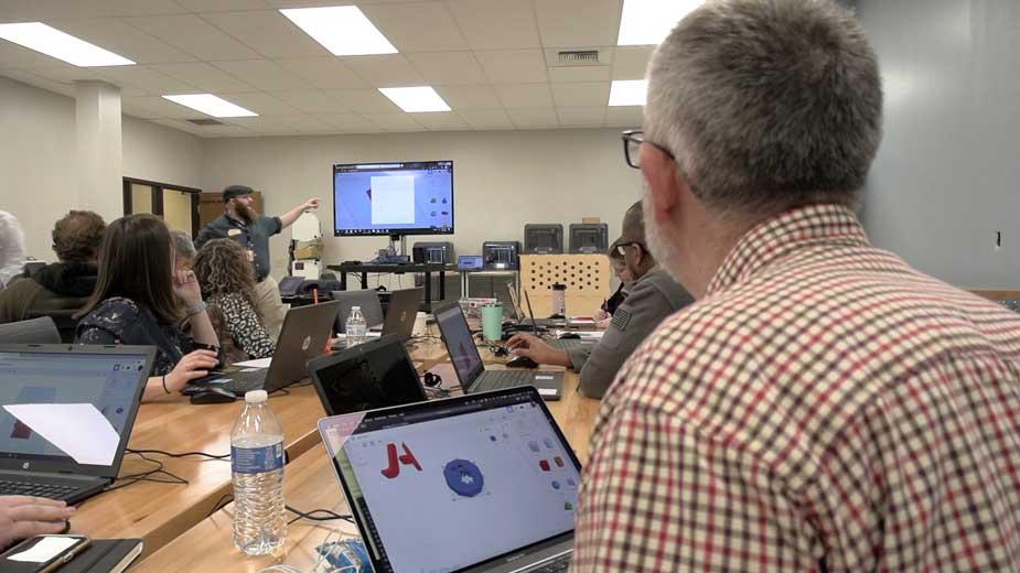 Making Makers at Sharon Fab Lab