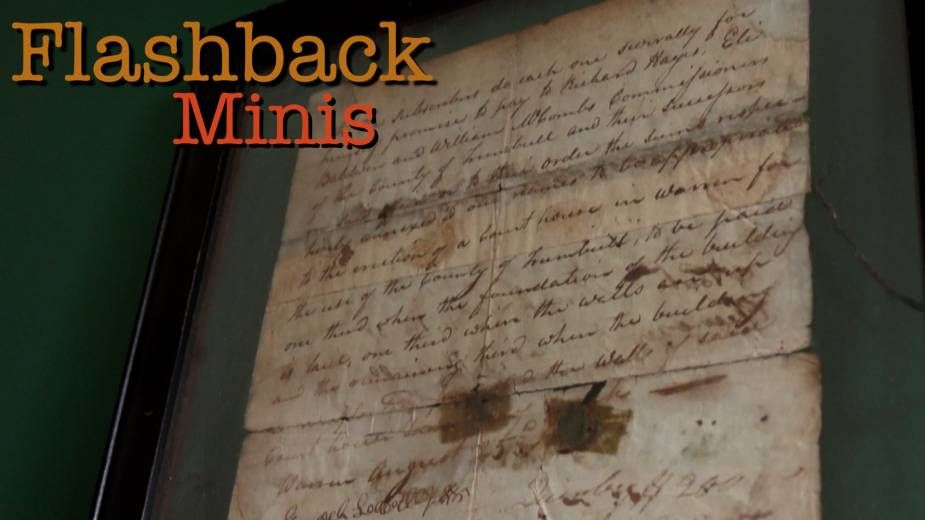 Flashback Minis: Trumbull County Courthouse Document