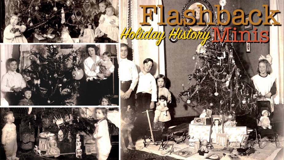 Flashback Minis: Megown Family Christmas Trees