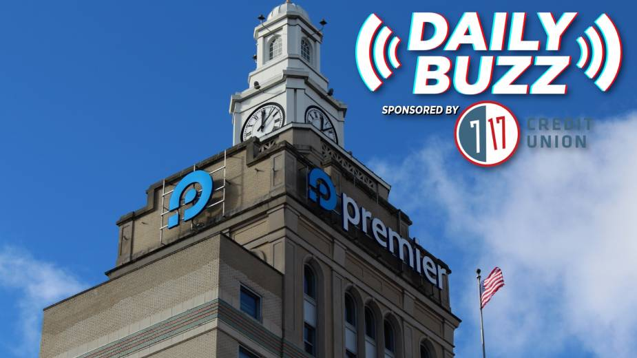 Daily Buzz 2-2-21 | Premier Bank Transition, COVID Relief for Venues, First Energy Reaches Settlement