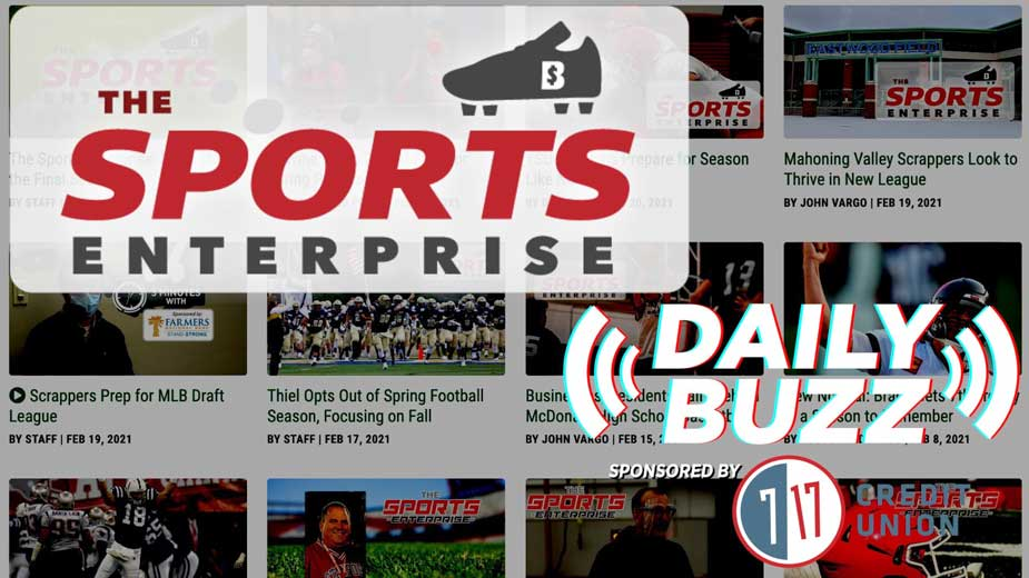 Daily Buzz 2-23-21 | The Sports Enterprise to Launch in March