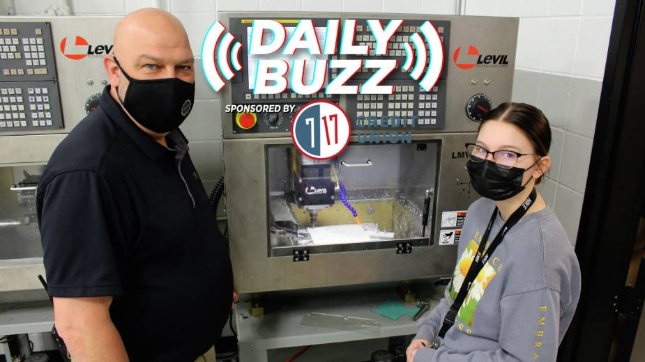 Daily Buzz 4-27-21 | Instructing the Next Generation's Workforce
