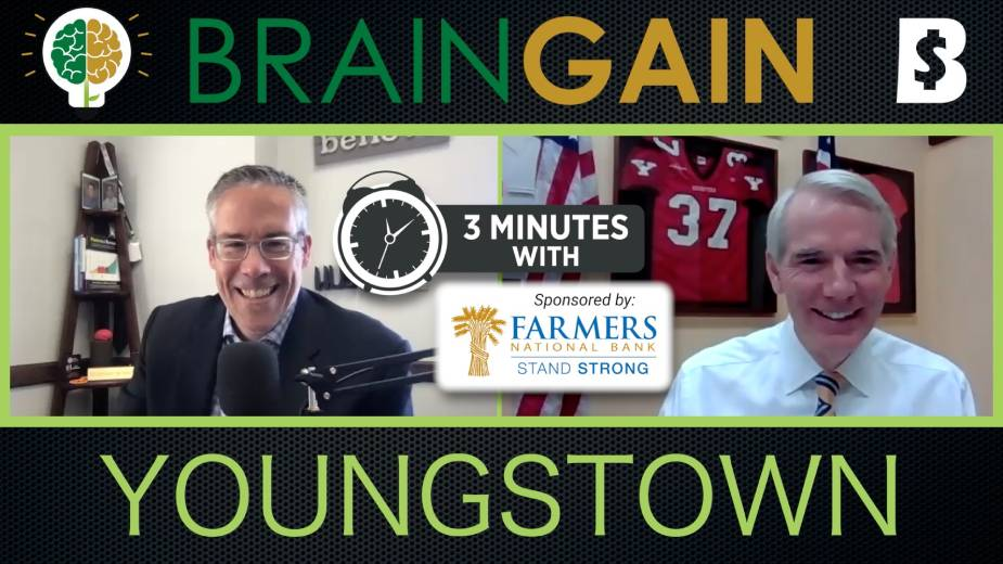 Brain Gain Podcast Excerpt: U.S. SEN. Rob Portman