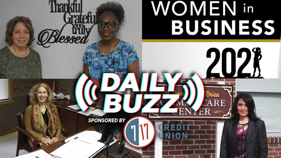 Daily Buzz 7-19-21 | Women in Business, Cybersecurity and a Handshake