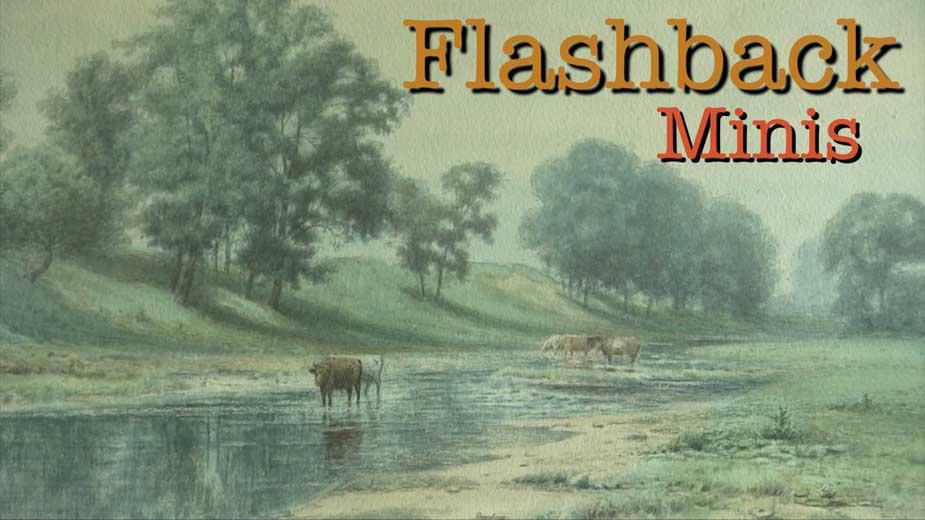 Flashback Mini: John Bell Landscape Painting