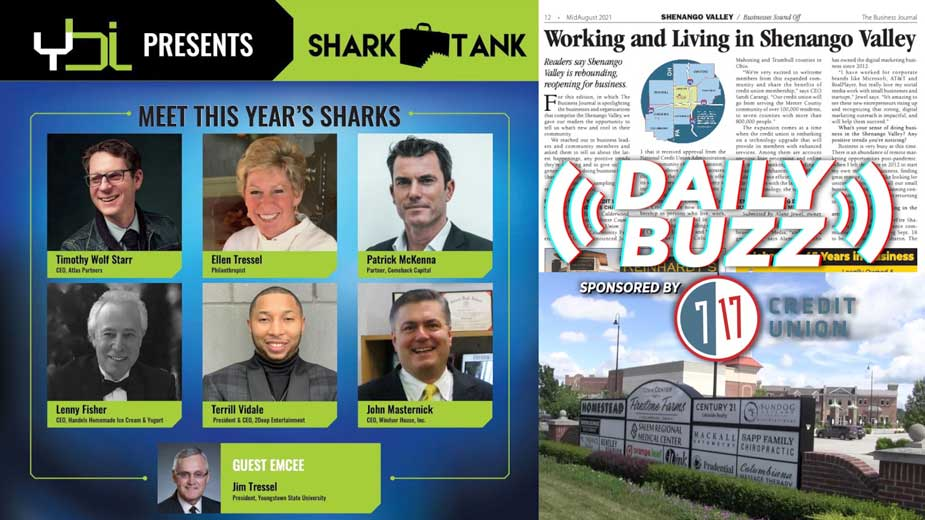 Daily Buzz 8-16-21 | Sharks in the Valley and Expansion in Columbiana