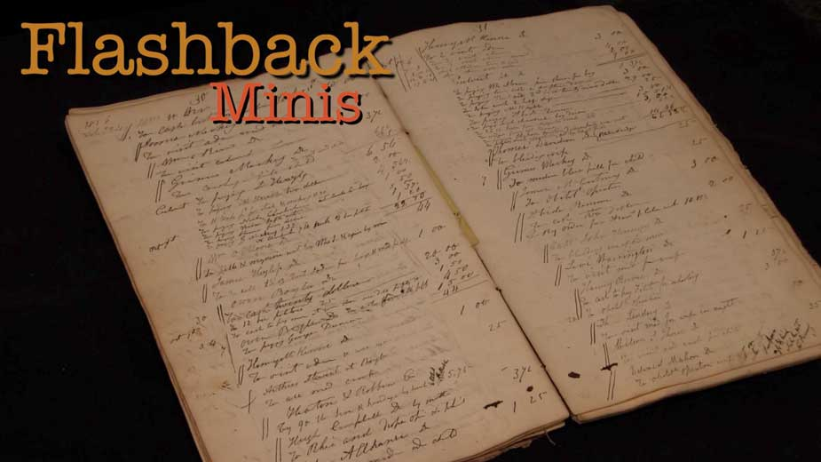 Flashback Minis: Dr. Henry Manning's Day Book