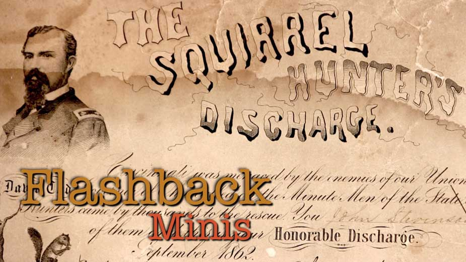 Flashback Minis: The Squirrel Hunters Discharge Papers
