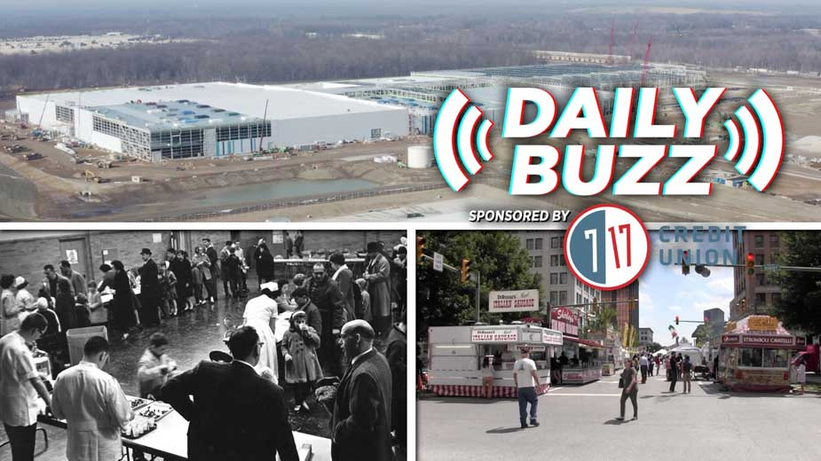 Daily Buzz 8-6-21   Electric Vehicles, Italian Fest and a History Lesson