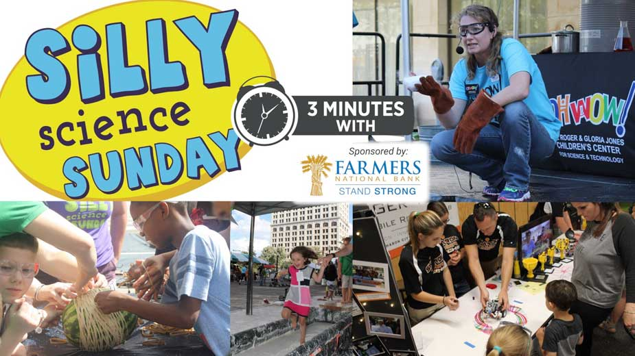 Silly Science Sunday Returns to Downtown Youngstown | 3 Minutes With 9-17-21